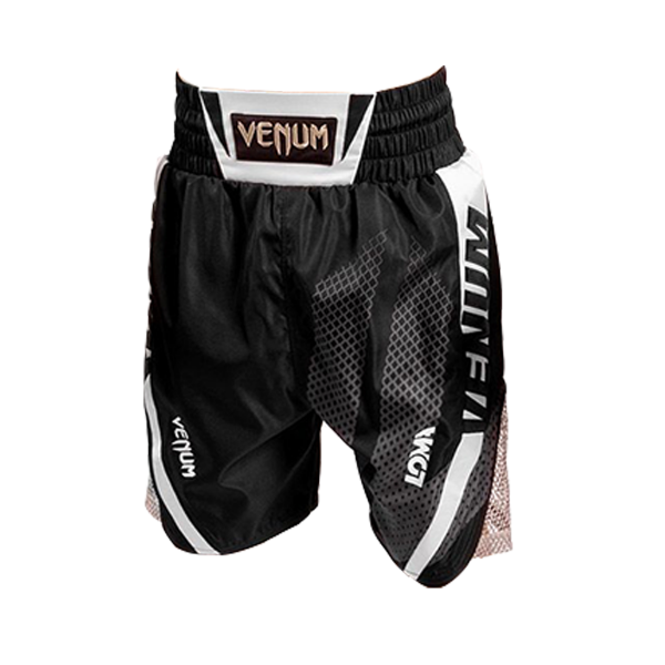 Boxing Shorts - Venum - 'Loma Signature Collection' - Black/White