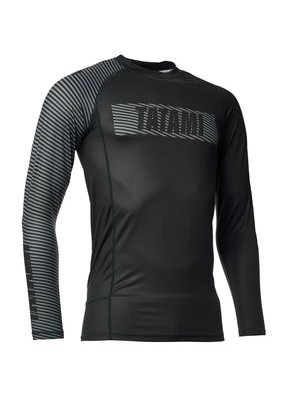 Rash Guard - Tatami Fightwear - 'Essential 3.0' - Black/Grey