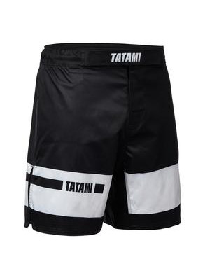 MMA shorts - Tatami Fightwear - 'Gallant' - Black/White