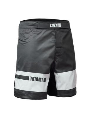 MMA shorts - Tatami Fightwear - 'Gallant' - Grey/White