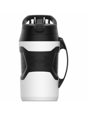 Water bottle - Under Armour - Playmaker Jug - White - 1,9 l