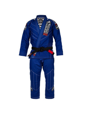 BJJ Gi - Venum Elite Light 2.0 BJJ-puku - (Bag Included) - Sininen