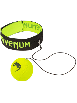 Accessories - Venum - 'Reflex ball' - Black/Yellow