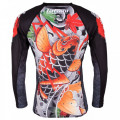 Rashguard - Japan Series - Tatami - Maple Koi