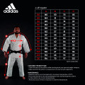 IJF Adidas judopuku - Red Label judo gi Champion 2.0 Sininen - Regular Fit