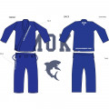 BJJ Gi - Moka - Simple - Sininen